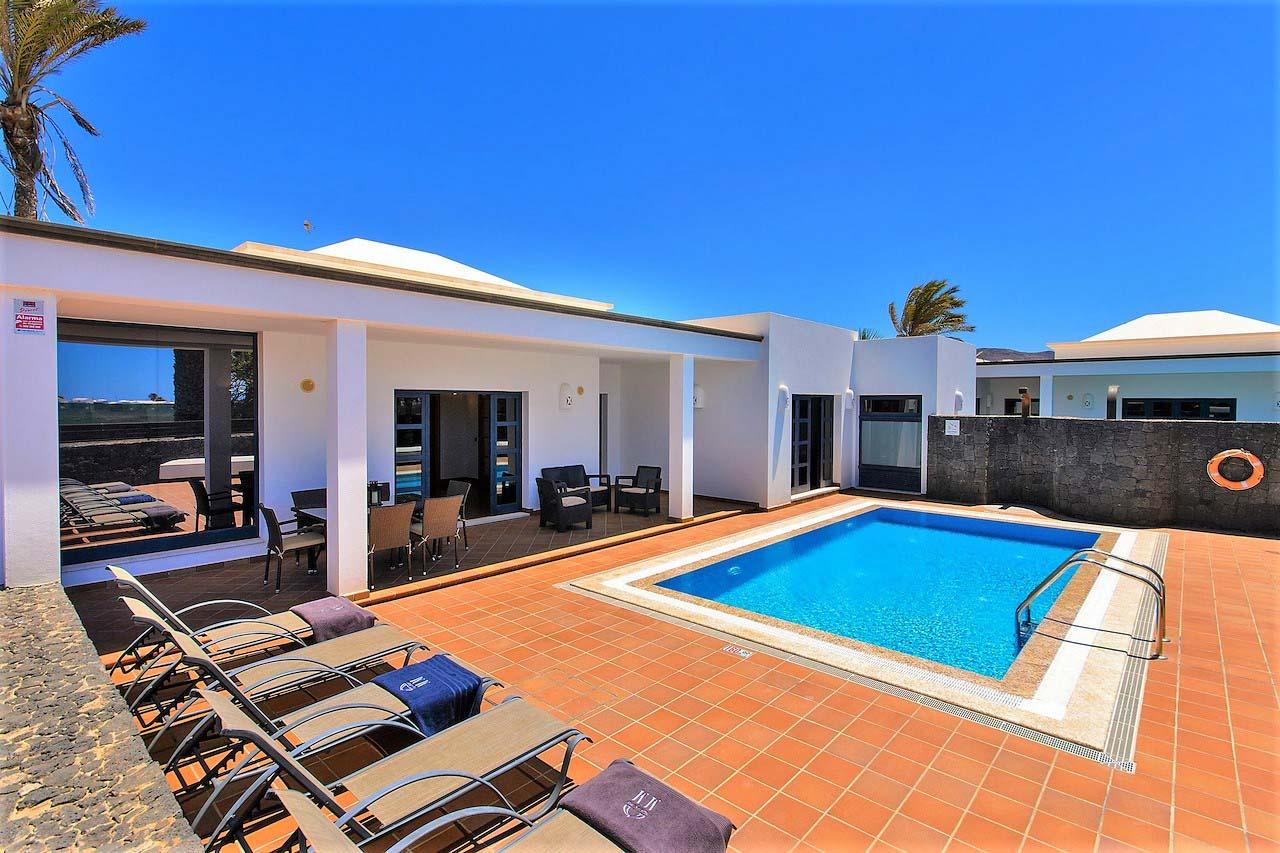 Villas Mamma Mía, chalets independientes en Playa Blanca, Lanzarote, Islas Canarias
