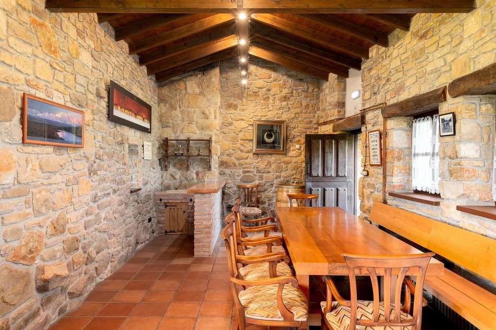 Villa Siena preciosa casona tradicional asturiana en San Martin del Mar, Asturias