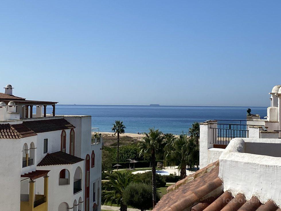 Ático alquiler verano en primera linea de playa en Zahara de los Atunes